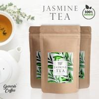 GENESIS NATURAL JASMINE TEA - DAUN TEH JASMINE ALAMI SIAP SEDUH