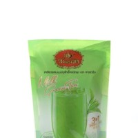 Chatramue Instant Milk Thai Green Tea Number One Brand Cha Tra Mue 5's