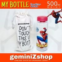 My Bottle Karakter warna 500ml SPIDERMAN