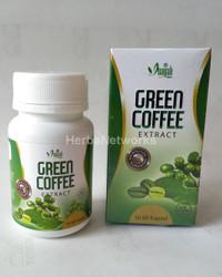 GREEN BEAN COFFEE KOPI HIJAU KAPSUL ORGANIK PELANGSING ALAMI