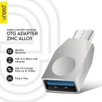 UNEED Zinc Alloy USB 3.0 OTG Adapter Micro USB - UAT03AM