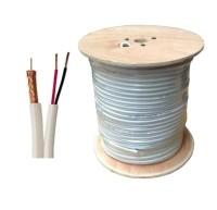 Coaxial Cable RG59, Kabel CCTV + Power RG59 300 Meter Berkualitas
