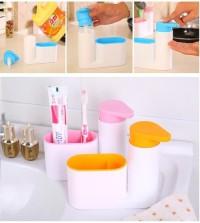 Sink Tidy Sey Dispenser Sabun Tempat Sikat Gigi Odol Sink Tidy Set