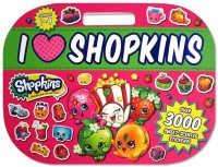 I Love Shopkins Sticker Activity Book with over 3000 sweet-scented sti
