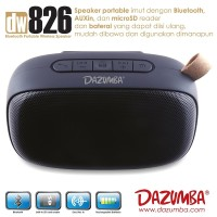 Speaker Portable Big Bass Bluetooth With Handsfree Call Dazumba DW826