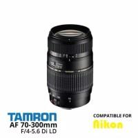 LENSA TELE TAMRON 70-300MM FOR NIKON + FILTER UV