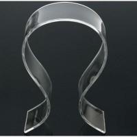 Dudukan Headphone Stand Akrilik Holder Headset Transparan Universal