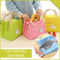 Tas Bekal Makan Motif Karakter Baymax Lunch Cooler Bag Insulated