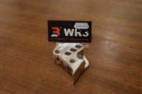 WR3 Bracket kaliper brembo 4piston 1 Pin Aerox 155 Depan