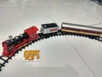 Mainan Kereta Api Keluar Asap Rail King 19030
