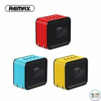 REMAX KURTRY ADAPTOR CHARGE 4 USB PORT 3.4 A