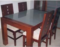 Meja Makan Jati Wado