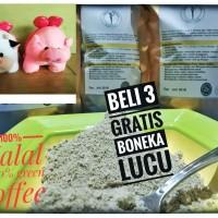 green coffee murni 100%halal 260g