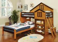 Tempat Tidur Anak Tipe Rumah