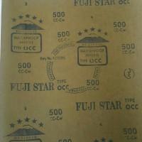 Amplas kertas gosok waterproof fujistar fuji star grid 500