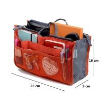 Lynx Dual Bag in Bag Organizer Tas Dalam Tas Korea