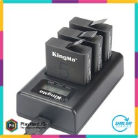 Kingma Charger Baterai 3 Slot GoPro Hero 5/6 - AHDBT-501