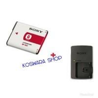 Charger+ baterai kamera Sony T2/T100