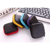 RAB BAG EARPHONE BENTUK PERSEGI / TEMPAT HEADSET / TAS EARPHONE / BOX