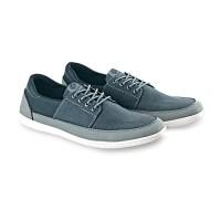 Sepatu casual sneakers kets kanvas Pria LAY 966 abu