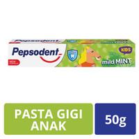 Pepsodent Kids Pasta Gigi Mild Mint 50G