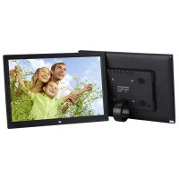 "GLITZ Digital Foto Frame 12"" High Resolution LED1280x800"