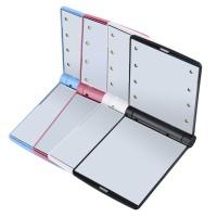 Termurah Cermin Lipat Makeup Pocket Size Foldable Mirror With Led Ligh