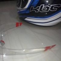 Spoiler Helm KBC 3D Model AGV Pista