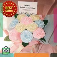 [PRE-ORDER] STANDING FLOWER BOUQUET / Buket Bunga Satin