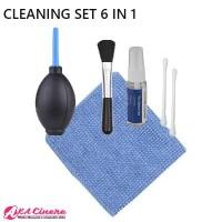 Cleaner Kit Set Blower 6 In 1 Pembersih Lensa Kamera, Notebook, dll