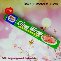 Klinpak Cling Wrap Regular Box 30m x 30cm - Plastik Wrapping makanan