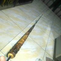 Joran bambu cendani P.160cm. Ujung fiber MH