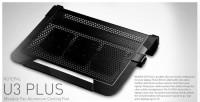 Cooler Master Notepal U3 Plus Movable Fan Aluminium Cooling Pad