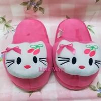 Sandal Boneka Sandal Rumah Sandal Tidur Dewasa Hello Kitty