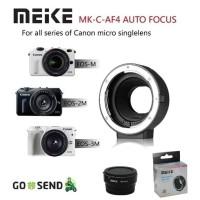 Meike Auto Focus AF Canon EF EF-S Mount Lens to EOS M EF-M Adapter