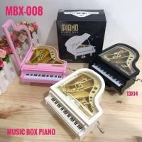 NEW ARRIVAL MUSIC BOX PIANO TUAS PUTAR / KOTAK MUSIK UNIK