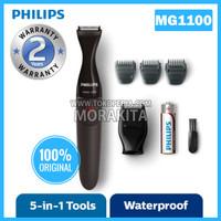 PHILIPS MG1100 ALAT CUKUR JANGGUT PRESISI MG1100/16 SHAVER