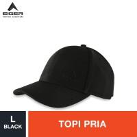 Eiger T12C-6048 Baseball Cap - Black M / Topi Pria