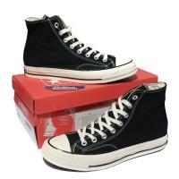 Converse 70s High Black White Egret Mirror BNIB (Free tas sepatu)