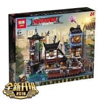Brick Lepin 06083 NinjaGo City Docks 3979pcs