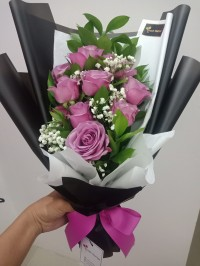 Hand Bouquet / Buket Bunga Wisuda / Bucket Bunga / mawar elegant charm