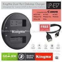KingMa Charger LP-E17 for Canon EOS EOS M3 M5 M6 200D 750D 760D etc