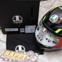 New Arrival!! Helm Fullface AGV K1 FLavum VR46 SNI size M L XL
