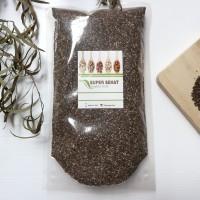 500gr - BLACK CHIA SEED / CHIASEEDS ORGANIK cocok untuk mpasi dan diet