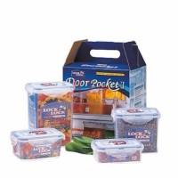Lock&Lock & Lock n Lock LocknLock Gift Set 4 HPT806AS Tempat Makanan
