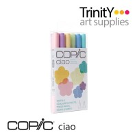 Copic Ciao Marker 6 Color Set Pastels Pastel
