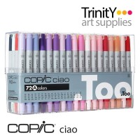 Copic Ciao Marker 72A 72 Color Set A
