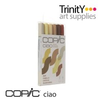 Copic Ciao Marker 6 Color Set Hair