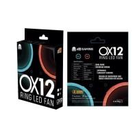 Digital Alliance DA Cooler Fan Case OX12 Ring LED - Biru - Merah
