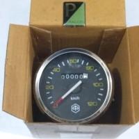 Kilometer Speedometer Vespa PX PS Ring Luar Nekel Import